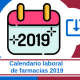 Calendario laboral de farmacias 2019 descarga