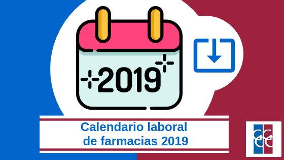 Calendario laboral de farmacias 2019 descarga