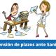 suspensión plazos administrativos ante sanidad