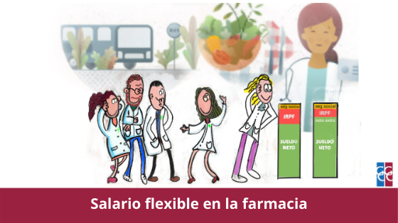 salario flexible en la farmacia