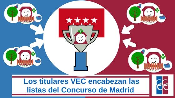 Titulares VEC ganadores