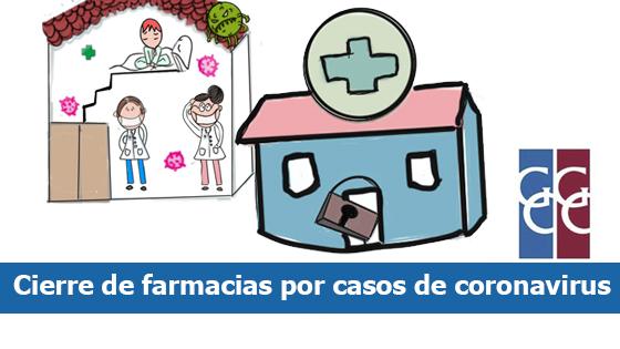 cierre de farmacias por casos de coronavirus