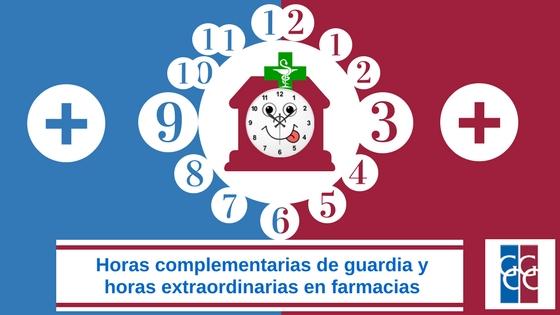 horas extraordinarias complementarias farmac
